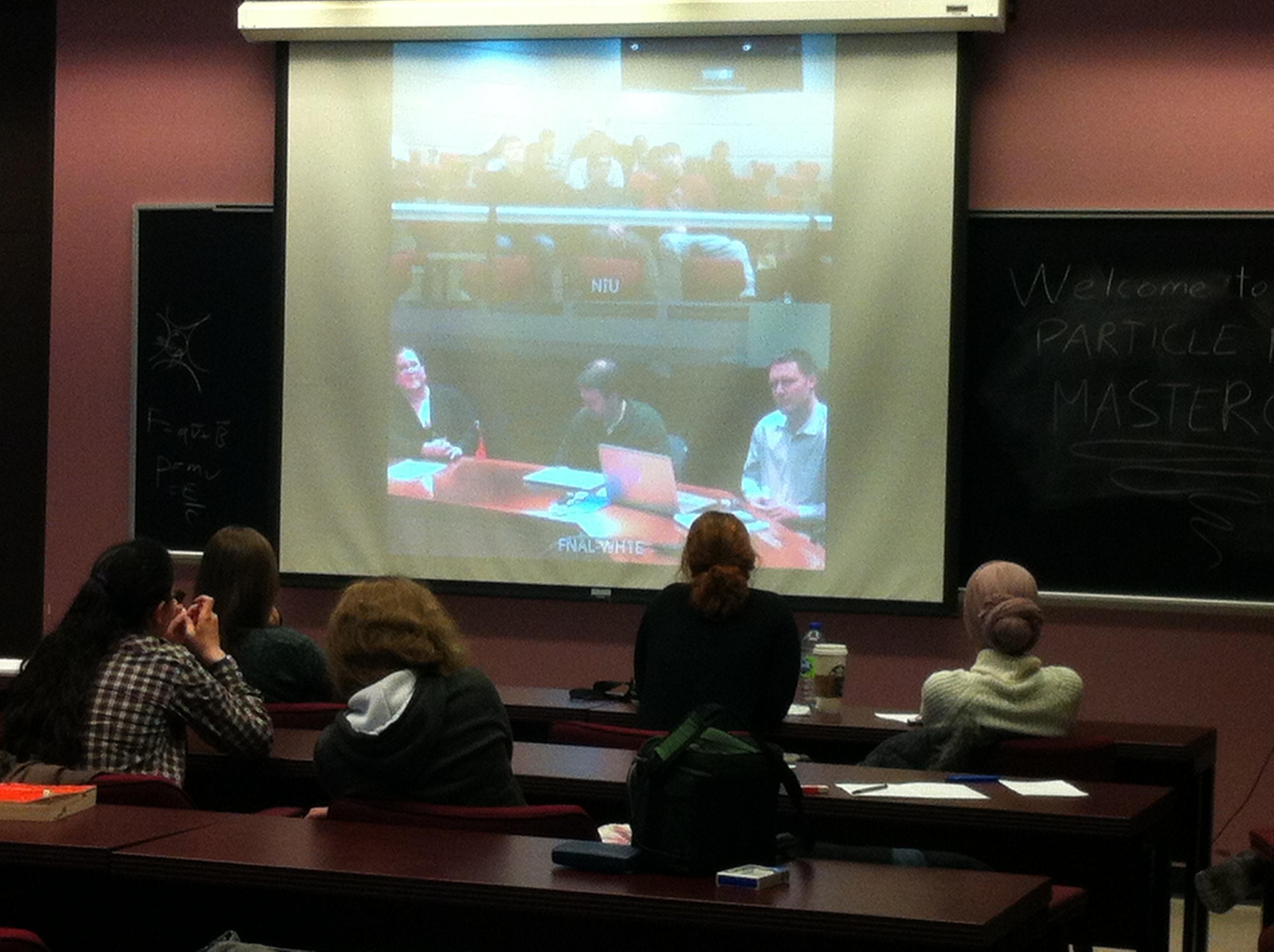 Le CIM participe à une masterclass de physique à McGill