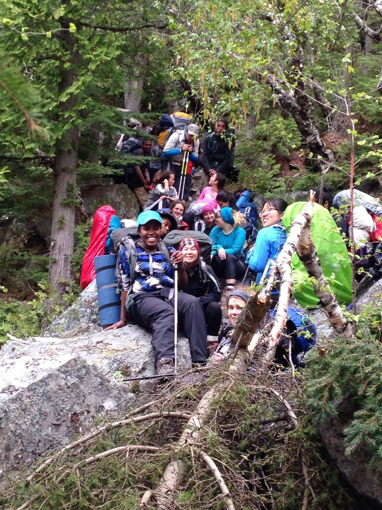 Et pour terminer l'année… une randonnée dans le Saguenay