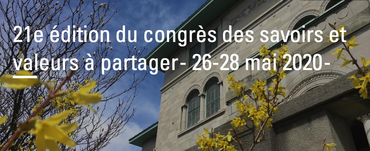 La 21e édition du congrès sera virtuelle